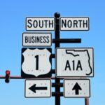 a1a-road-sign
